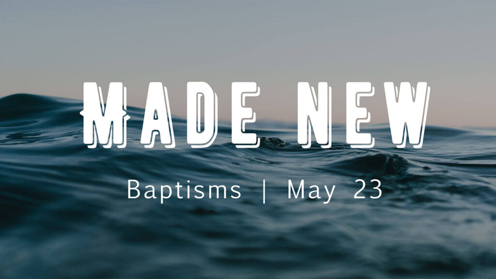 Baptism at SVA - Are You Ready?