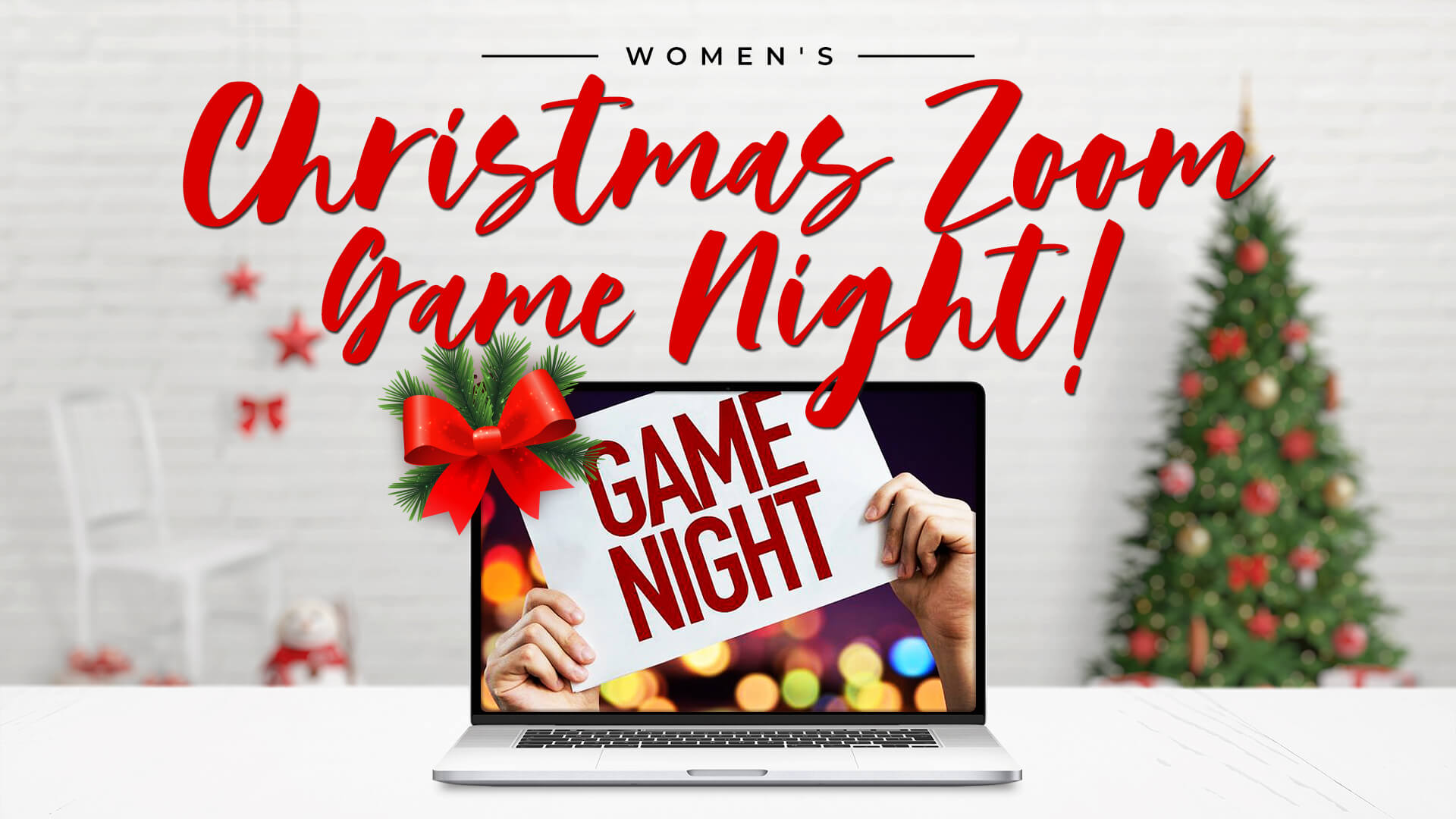 Women's Christmas Zoom Game Night at SVA Church
