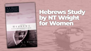 Hebrews Study by NT Wright for Women