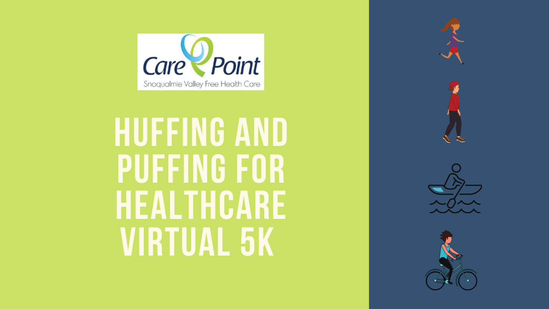 Huffing & Puffing Virtual 5K for Healthcare
