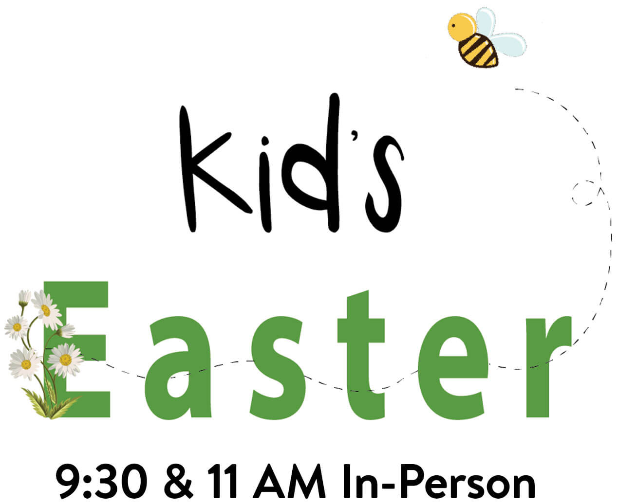 In-Person Kid's Easter Services