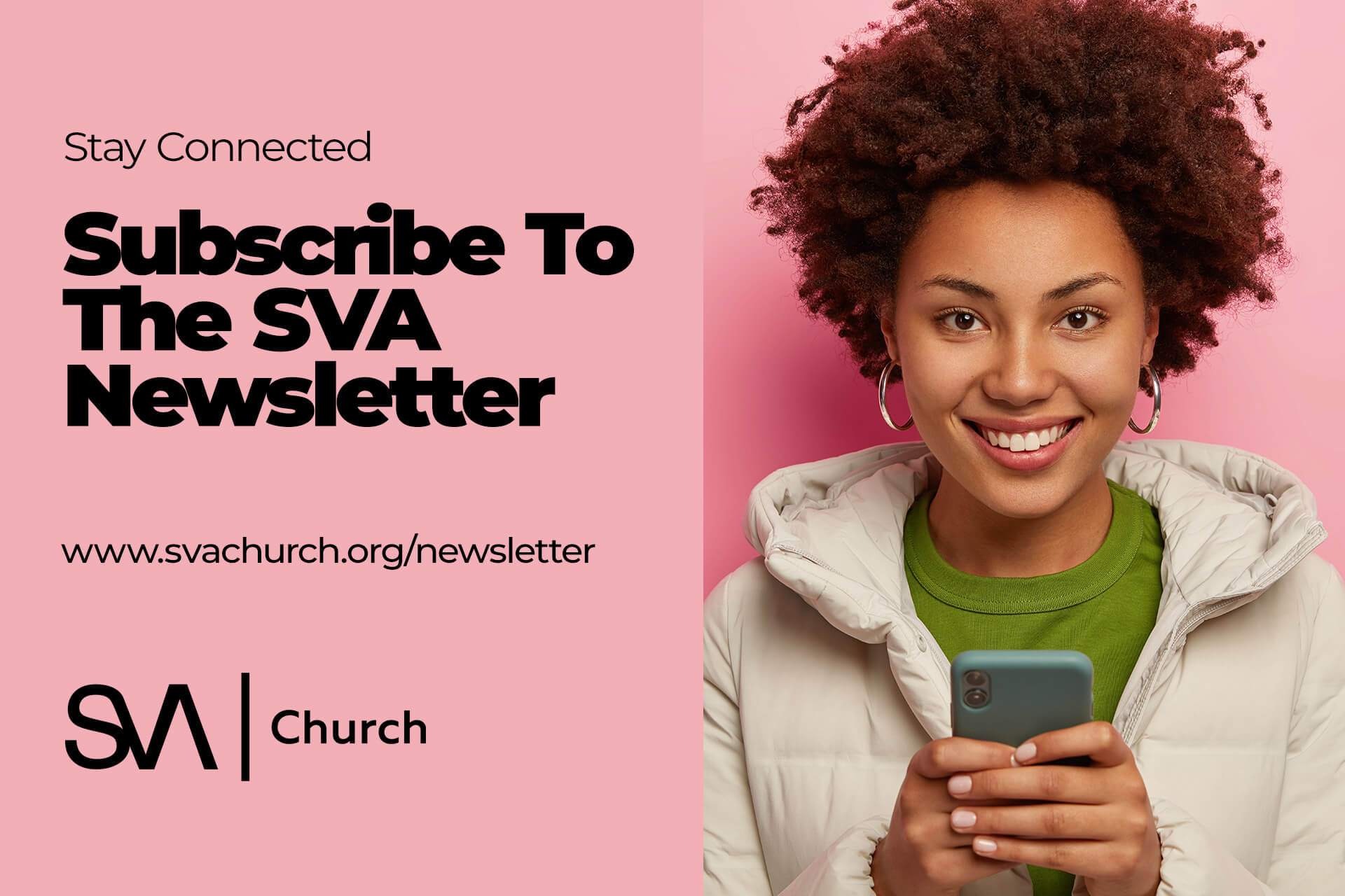 Subscribe to the SVA Church Newsletter