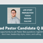 Lead Pastor Candidate Q & A