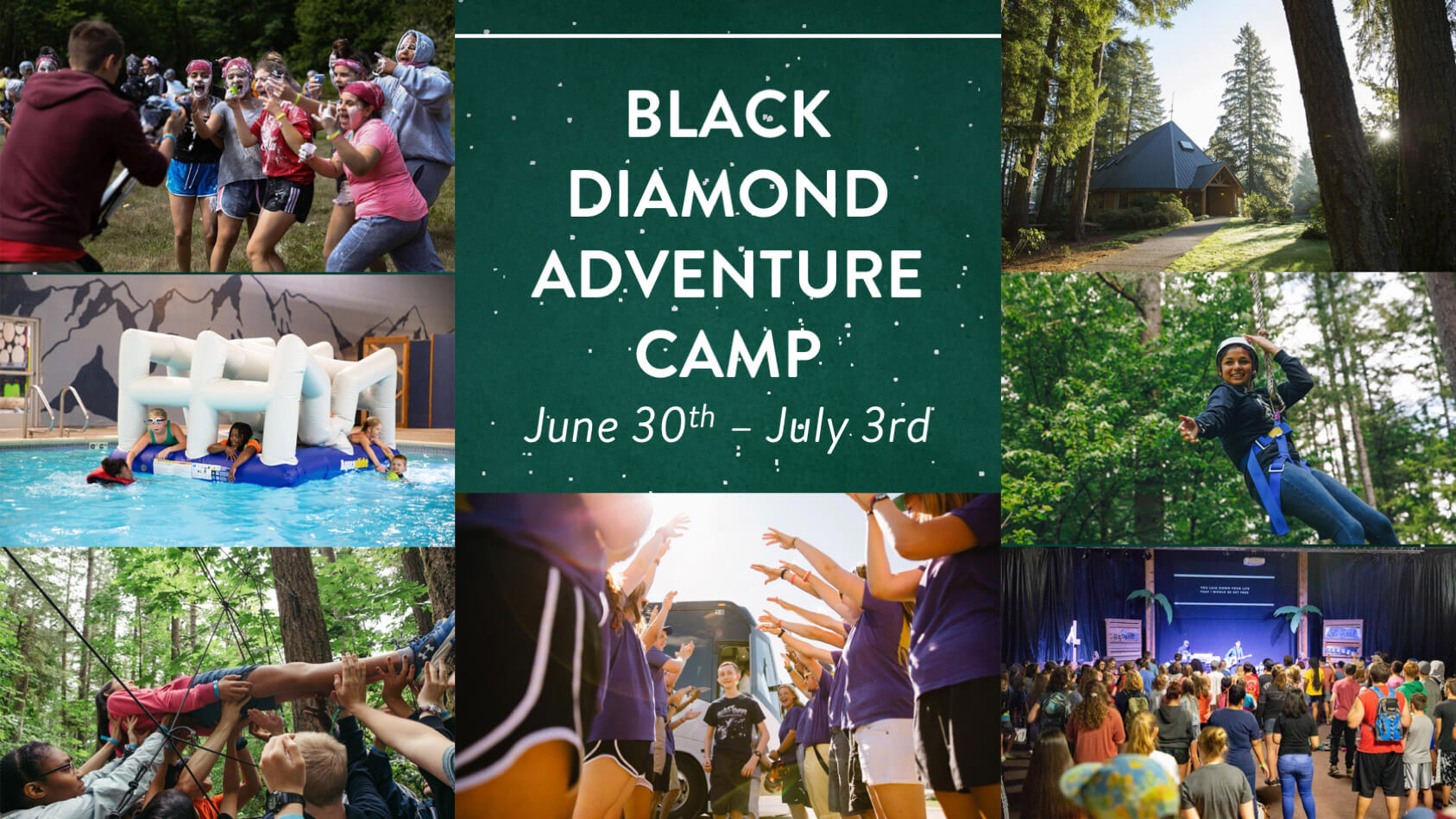 SVA Church Youth Summer Camp at Black Diamond Adventure Camps