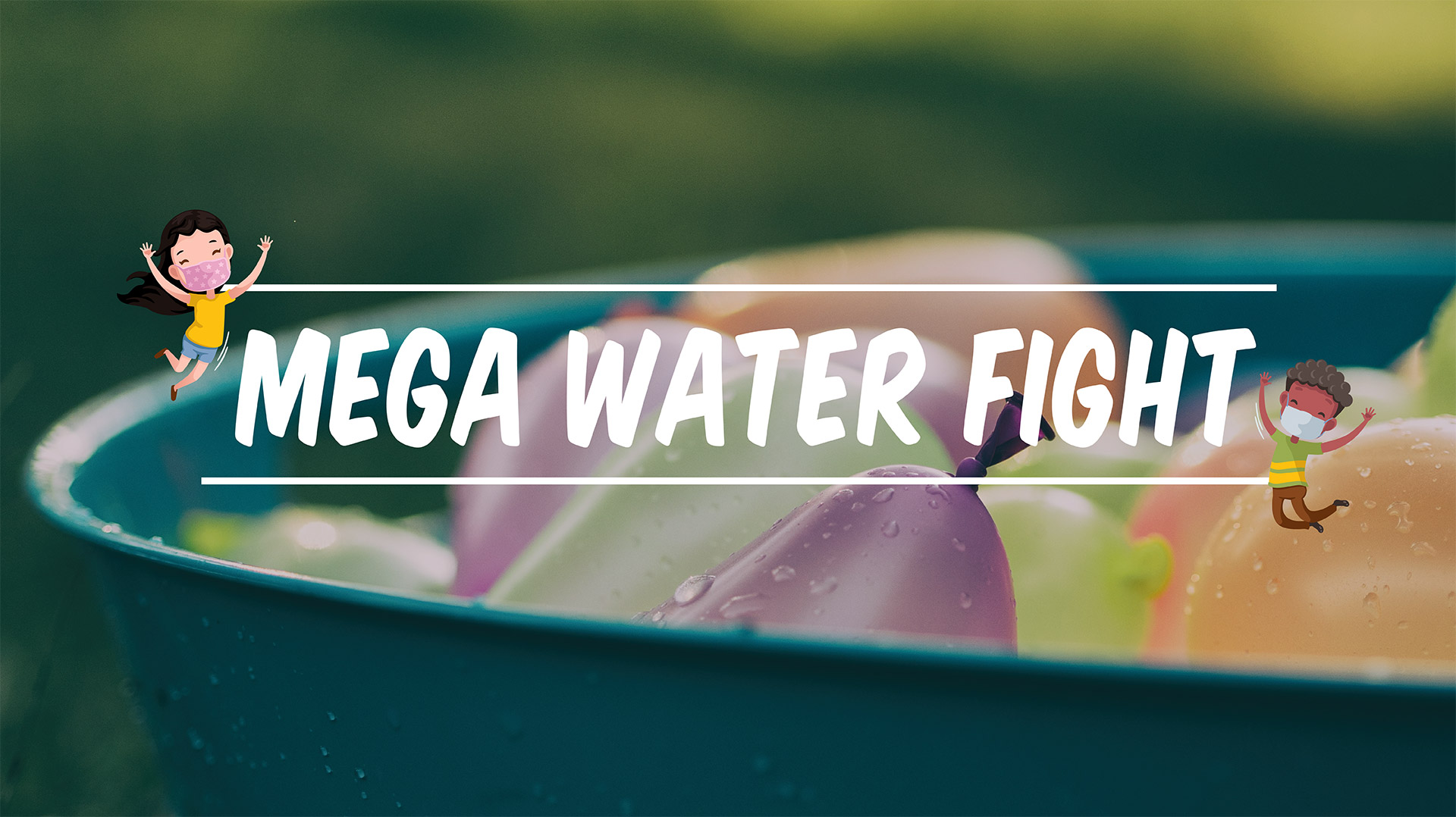 Summer Play Date - Mega Water Fight
